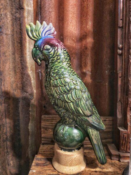 beeld, papegaai, jungle, woonaccessoires, interieur