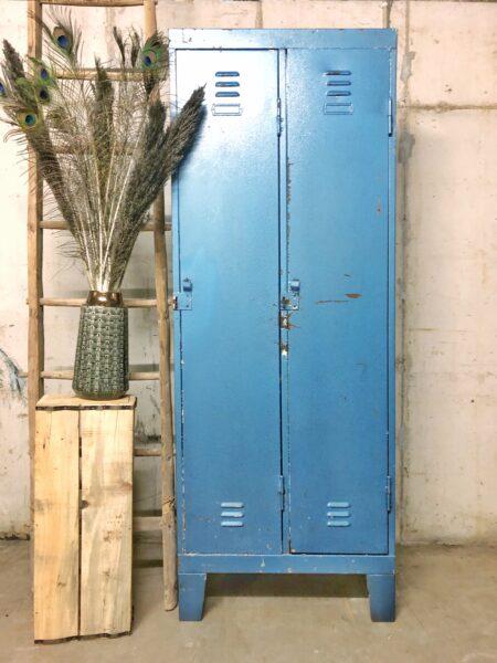 lockerkast, vintage, industrieel, interieur