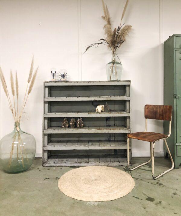 vintage, hout, kast, interieur, industrieel